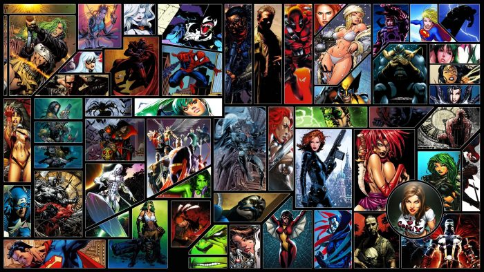 Video Game Character Collage Wallpaper Fondos de pantalla de ...