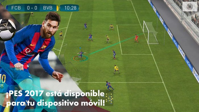 Pro Evolution Soccer para celulares