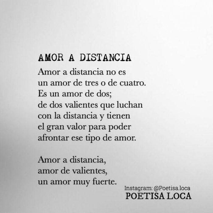 Imágenes de Amor a distancia con frases para dedicar a tu ...