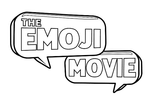 Dibujos De Los Emoji La Película Para Colorear E Imprimir