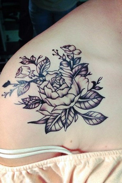 fotos de tatuajes de flores im225genes de tatuajes de