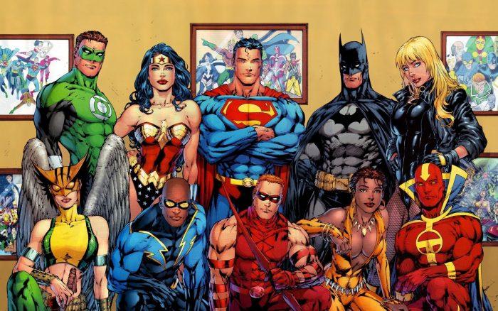 Fondos de Pantalla de Superhéroes de DC Comics, Wallpapers