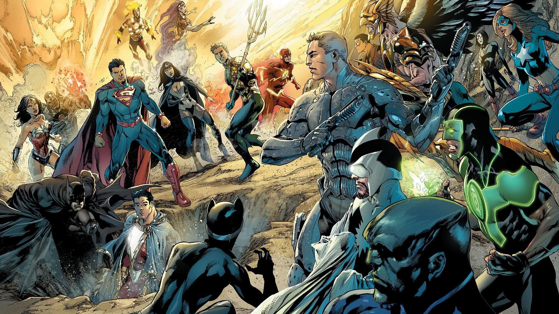 Fondos De Pantalla De Superhéroes De Dc Comics Wallpapers Hd