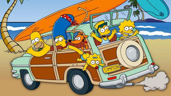 Los Simpson en la Playa