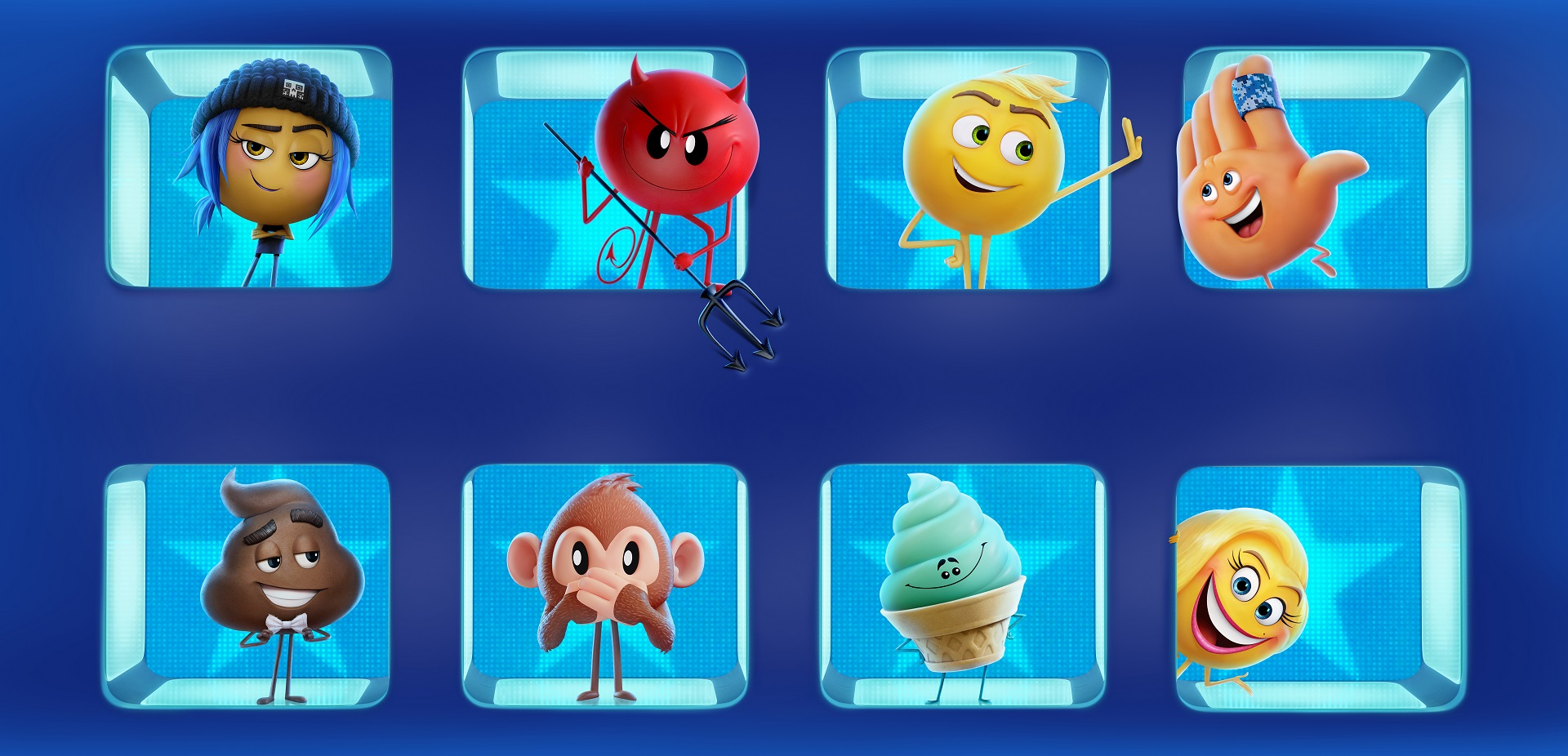 4a673f6def9 Fondos de pantalla de Los Emoji, la película, Wallpapers The Emoji Movie