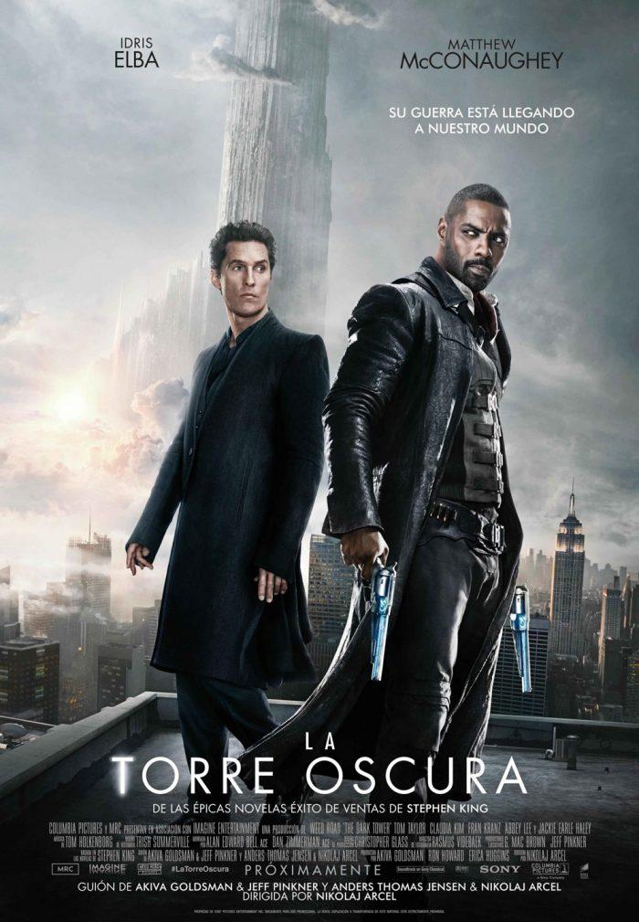 La Torre Oscura cartel cine