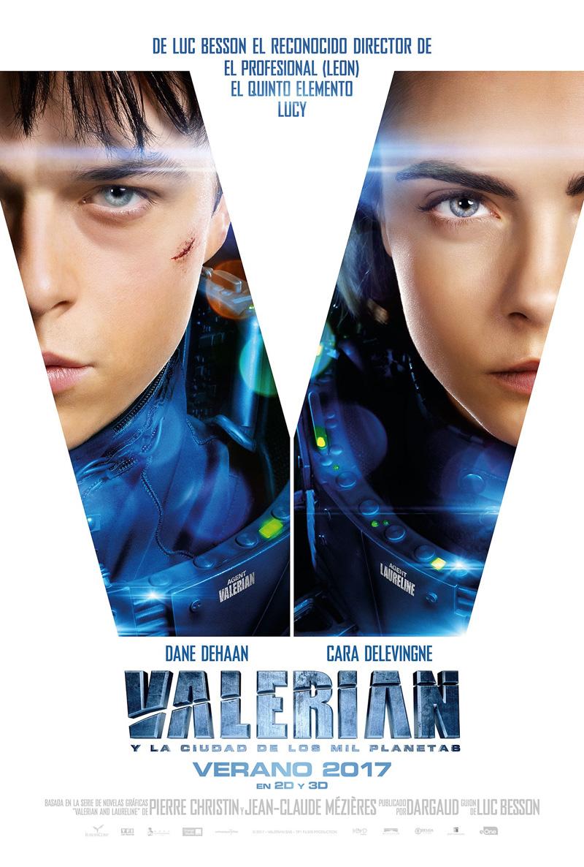 Trailer en español de Valerian y la Ciudad de los Mil