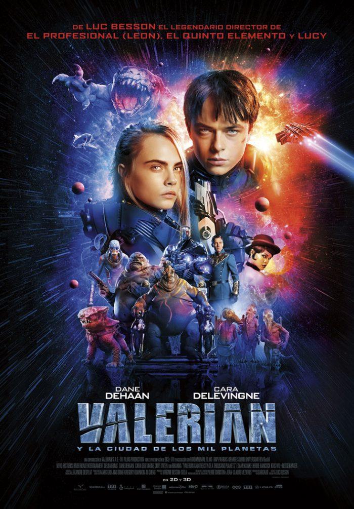 Valerian y la Ciudad de los Mil Planetas de Luc Besson