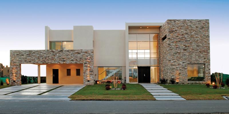 Fachadas de casas de piedra modernas cl sicas y minimalistas - Fotos de casas de piedra ...