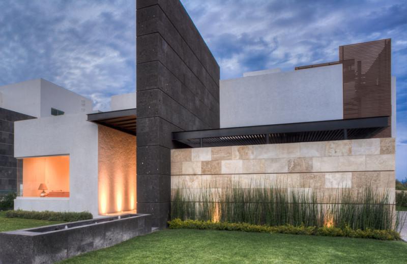 Fachadas de casas de piedra modernas cl sicas y minimalistas for Ver fachadas de casas minimalistas