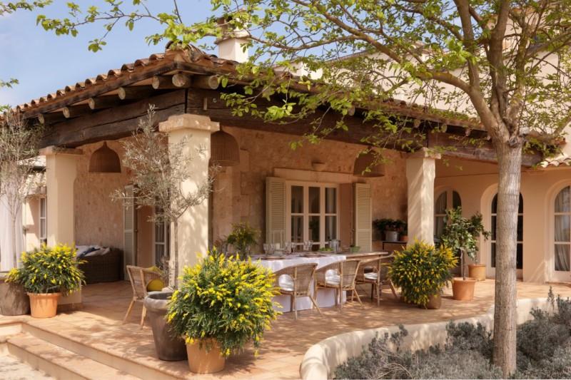 Fachadas de casas de piedra modernas cl sicas y minimalistas for Casa de una planta rustica