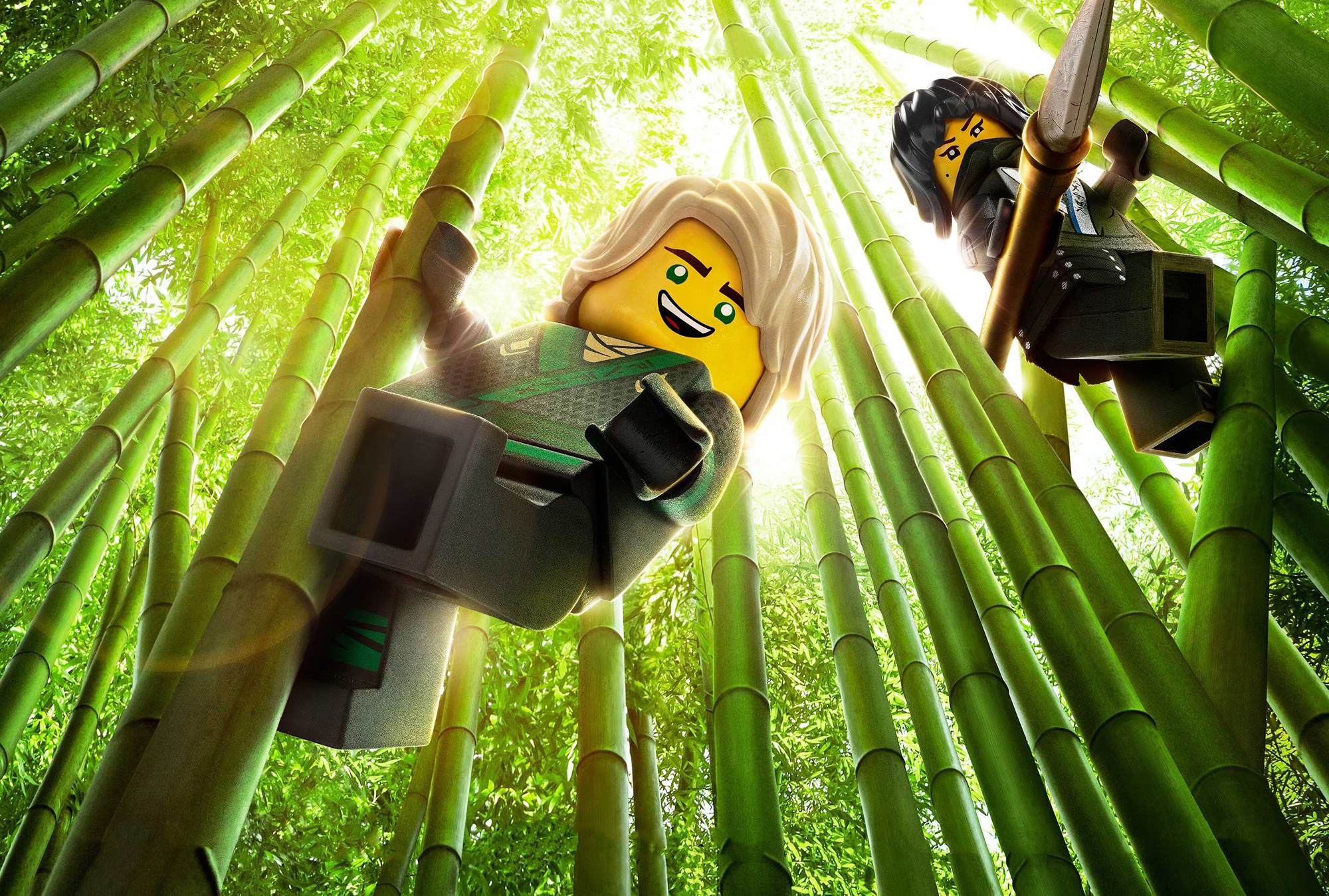 Fondos de pantalla La Lego Ninjago, wallpapers HD