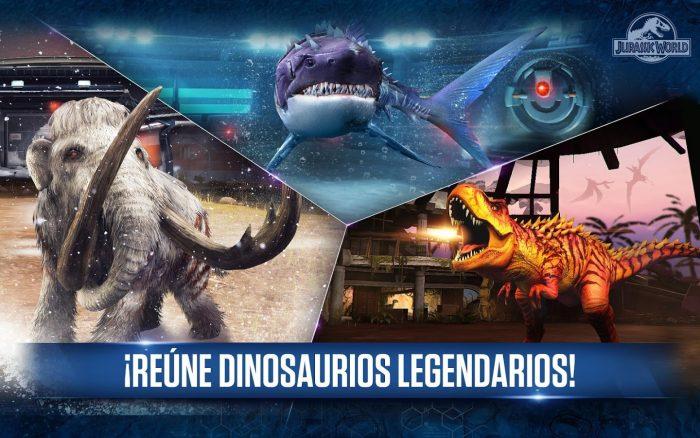 Juego de Jurassic World para celular