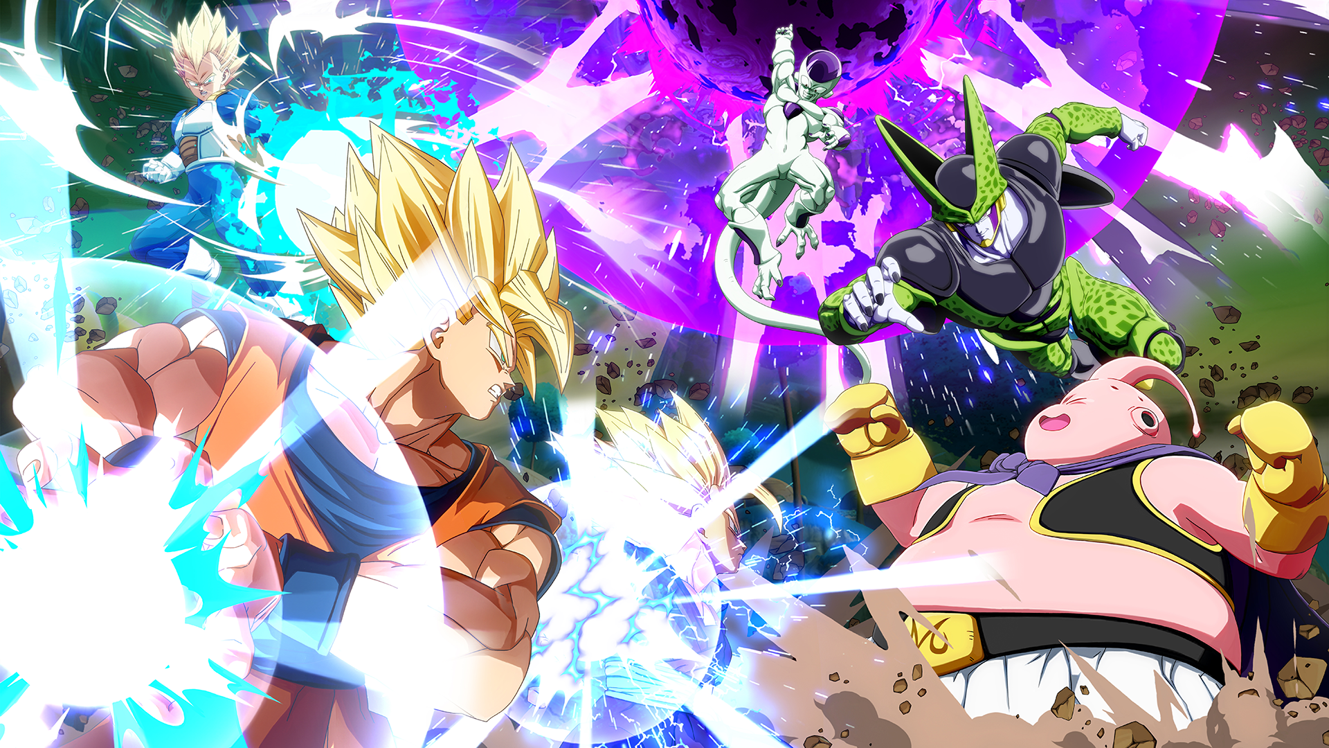Fondos De Pantalla De Dragon Ball Fighterz Wallpapers Hd Gratis