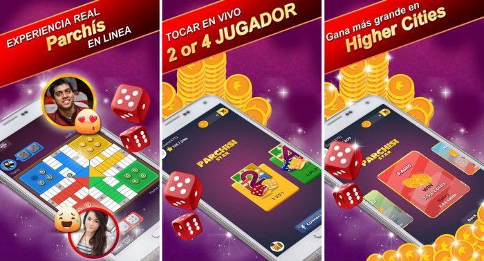 Parchis STAR, juego de parchís online gratis para Android e iPhone