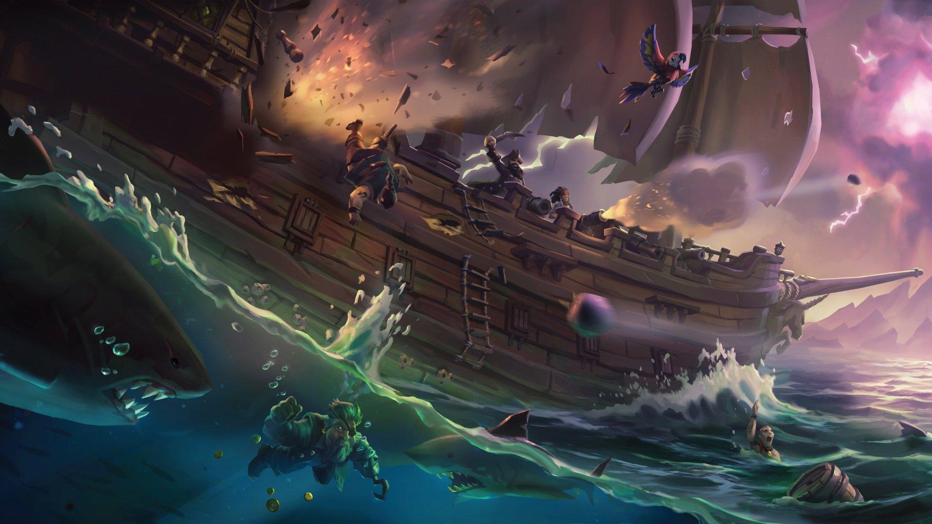 Fondos de pantalla de Sea of Thieves, Wallpapers