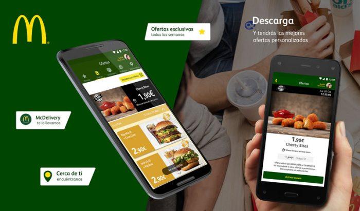 App de Macdonals, aplicación de Macdonals para Android