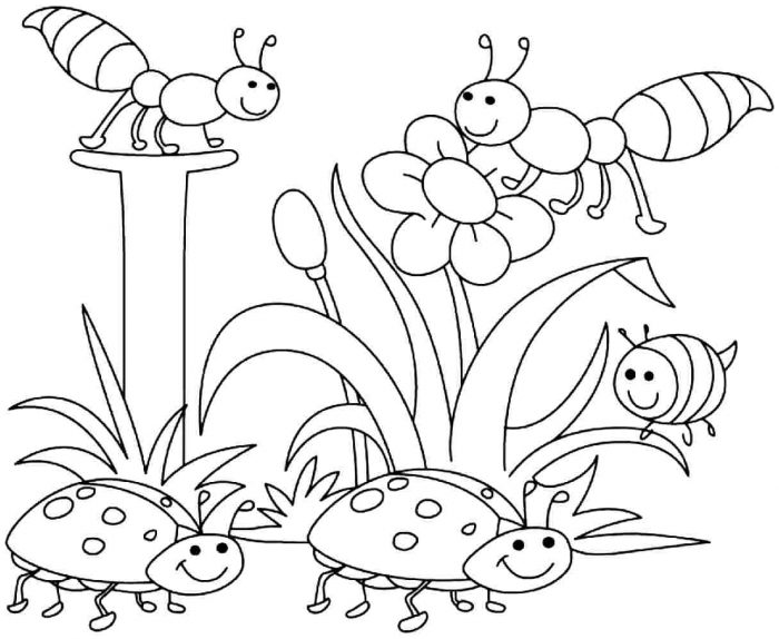 childrens coloring pages summer plants - photo#13