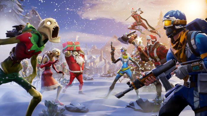 Desktop Wallpaper 2018 Video Game Fortnite Art Hd: Fondos De Pantalla De Fortnite Battle Royale, Wallpapers