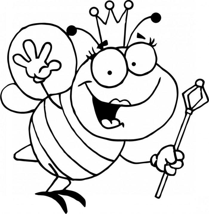 Dibujos para colorear de abejas