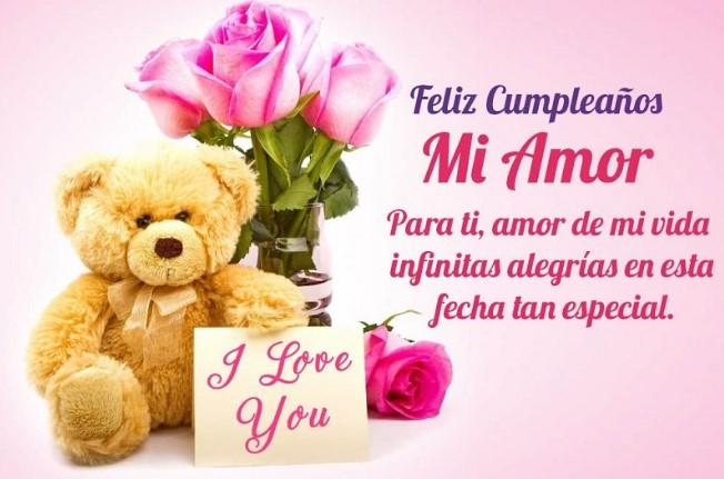 Imágenes de Feliz Cumpleaños mi amor