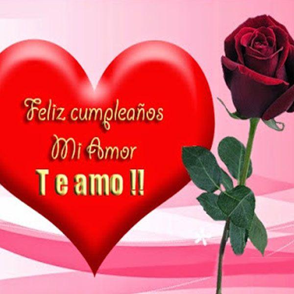 Imágenes de Feliz Cumpleaños Mi Amor para regalar