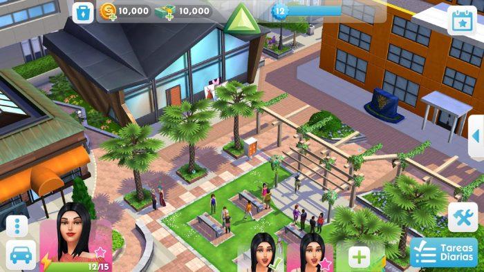 Juego de Los Sims gratis para tablets