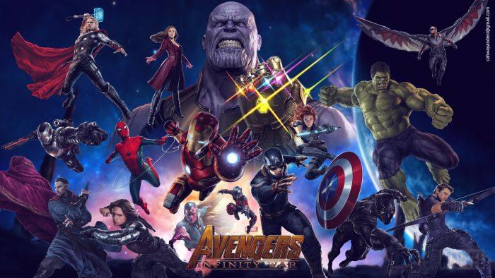 Fondos de pantalla de Los Vengadores Infinity War