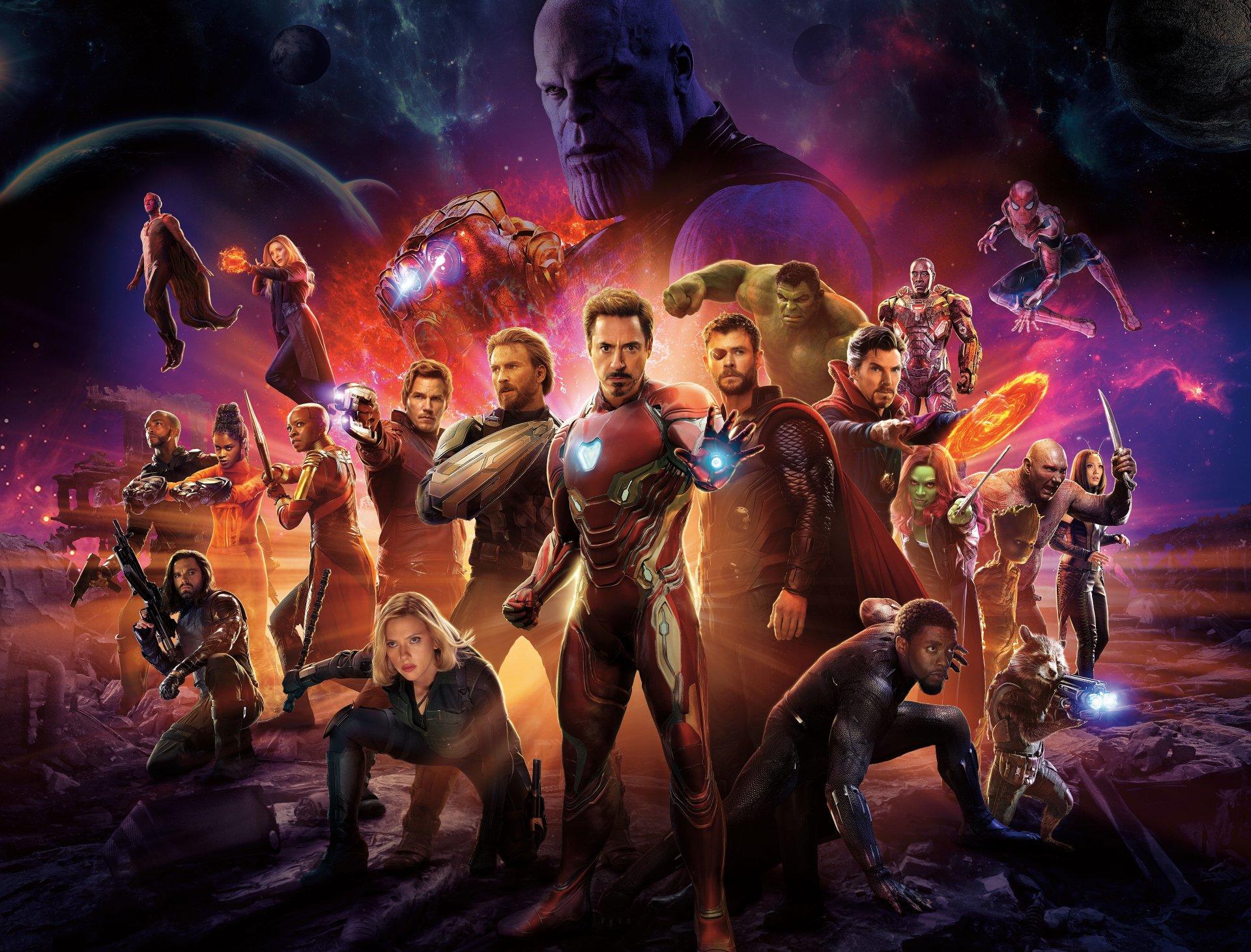 Fondos De Pantalla De Quikis: Fondos De Los Vengadores Infinity War, Wallpapers Avengers