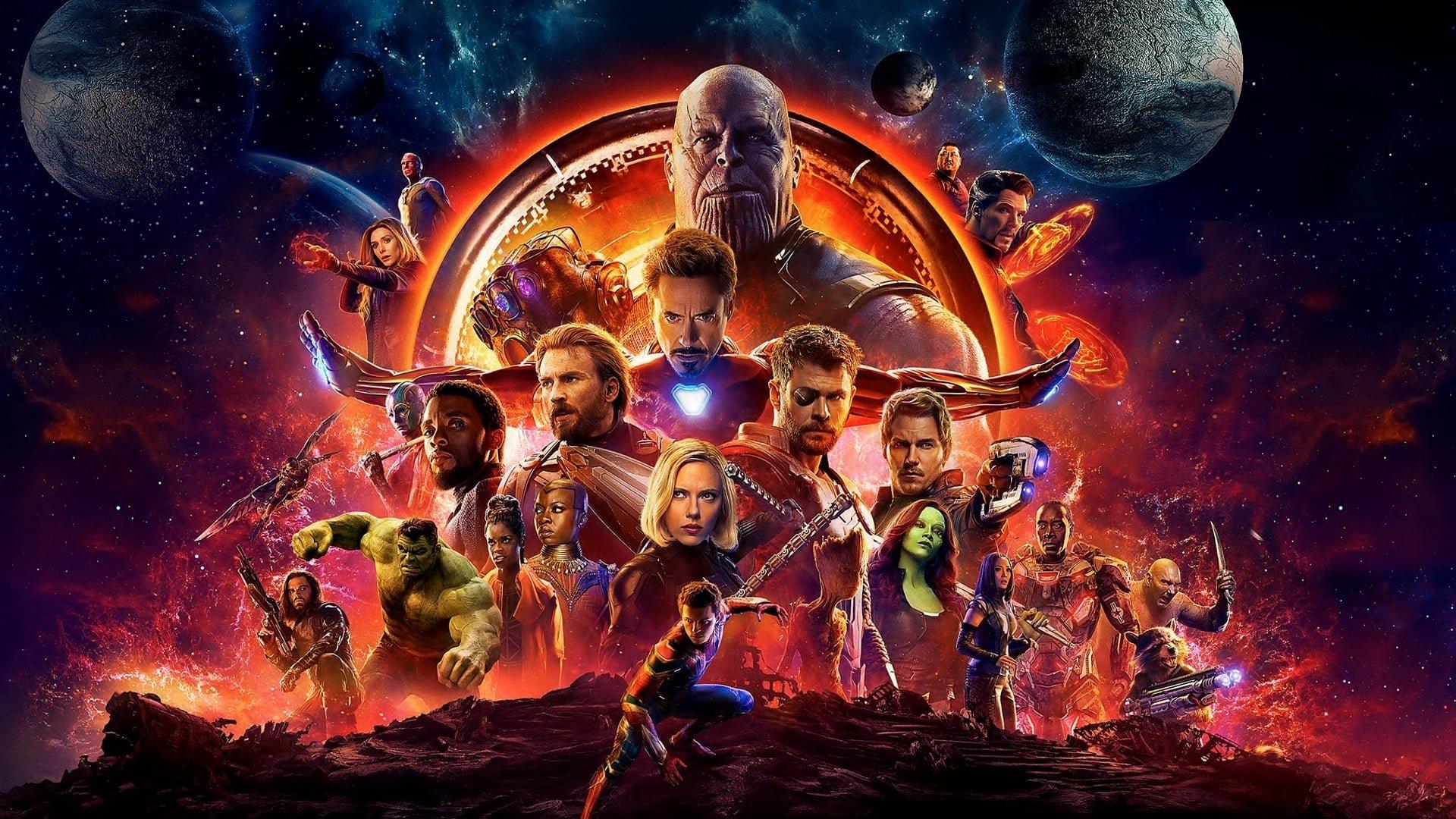 Fondos De Pantalla Hd: Fondos De Los Vengadores Infinity War, Wallpapers Avengers