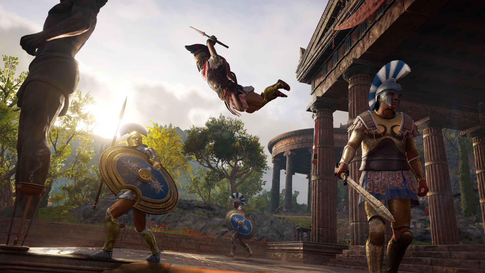 Fondos de Pantalla Assassins Creed Odyssey, Wallpapers