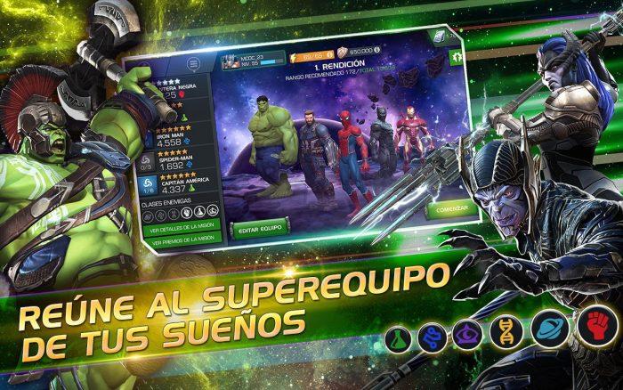 Juego de Los Vengadores Infinity War Gratis para Móviles y celulares