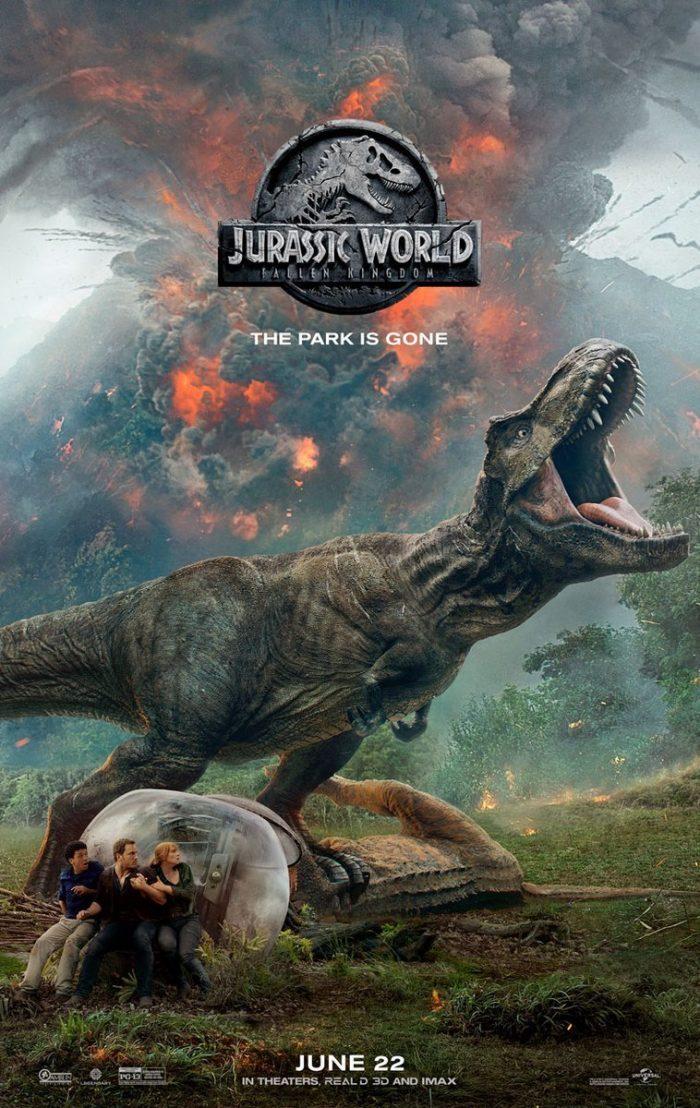 Cartel Jurassic World El Reino Caido