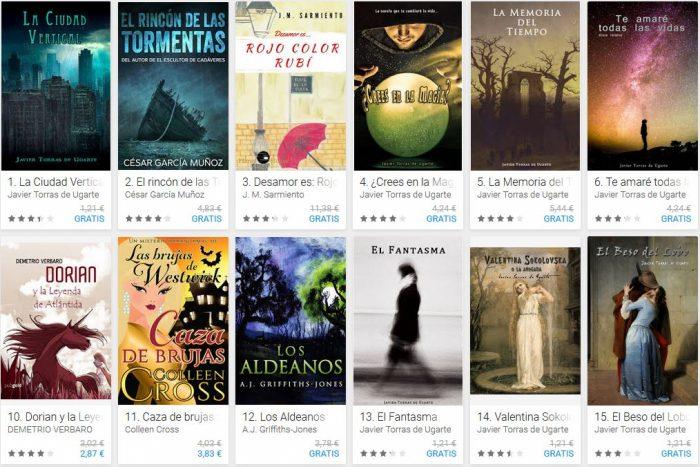 Libros online gratis para Android en español