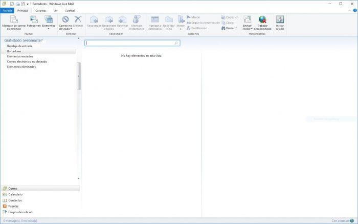 Descargar Windows Live Mail 2012