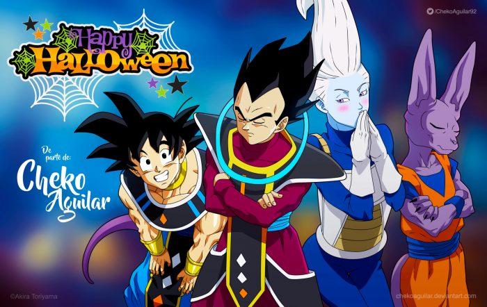 Fondo de Dragon Ball Super Halloween