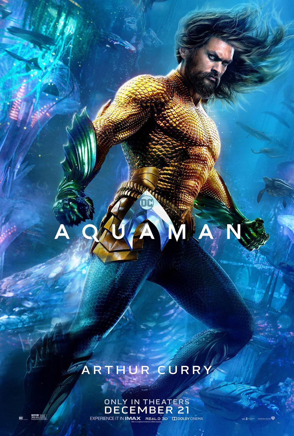 Trailer En Español De La Película Aquaman 2018 Sinopsis