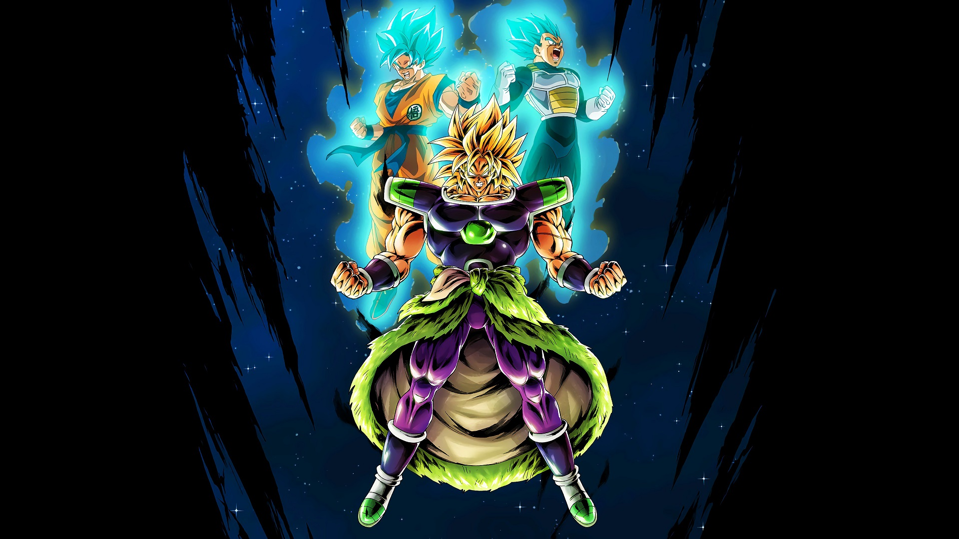 Goku vs broly fan animation - 1 5