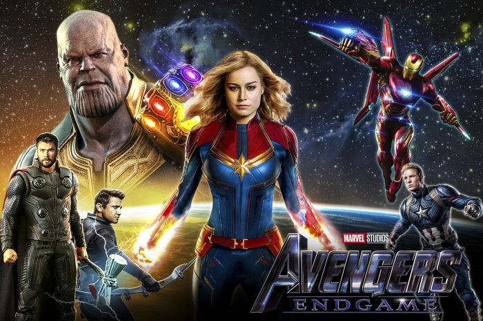 Capitana Marven y Vengadores Endgame wallpapers