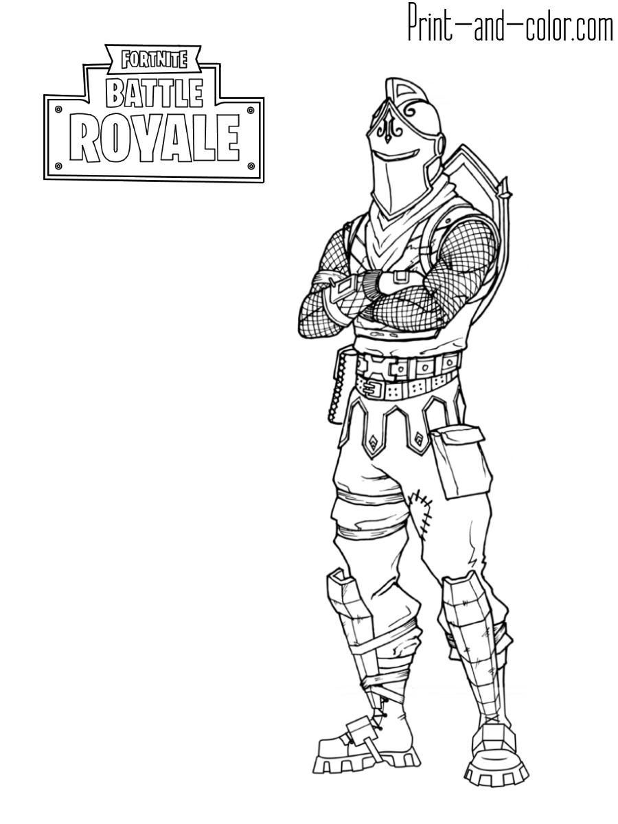 Dibujos de Fortnite para colorear e imprimir